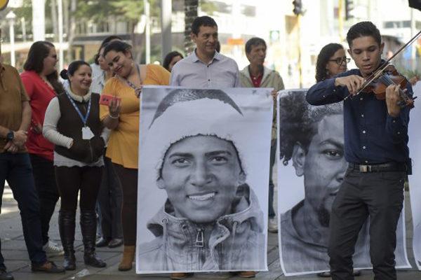 Colombia honra a los migrantes venezolanos con fotos de esperanza