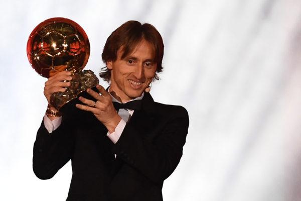 Modric gana el Balón de Oro y pone fin al reinado Messi-Cristiano