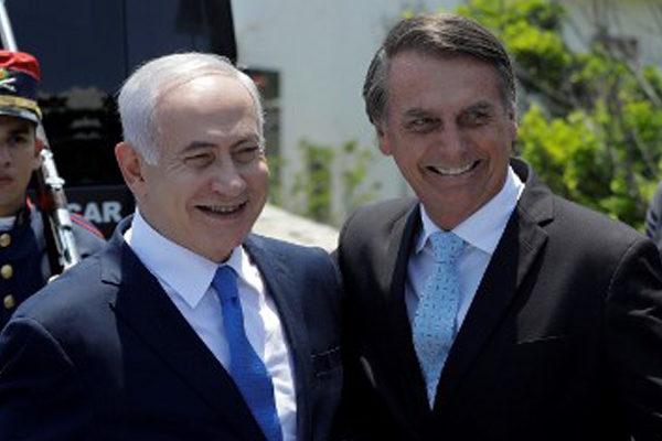 Netanyahu y Bolsonaro sellan una nueva alianza entre Brasil e Israel