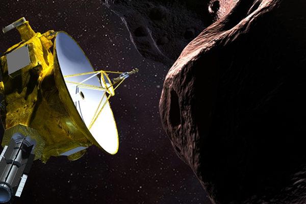 Sonda de la NASA entra en la órbita de un pequeño un asteroide