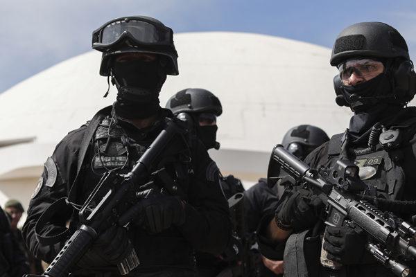 Fuerte esquema de seguridad marca último ensayo de investidura presidencial en Brasil