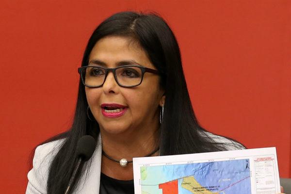 Delcy Rodríguez alerta sobre intento de golpe de estado en Venezuela