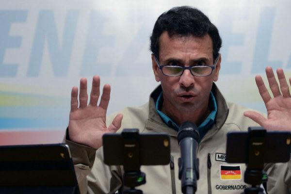 Henrique Capriles: Hay que negociar con el chavismo lograr ayuda humanitaria y elecciones