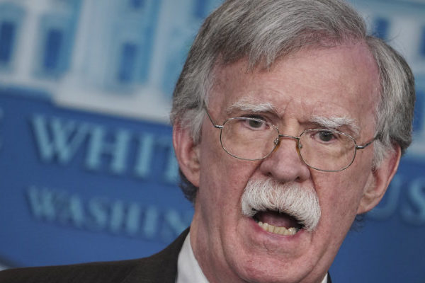 Trump despidió a John Bolton: «sus servicios ya no son necesarios en la Casa Blanca»