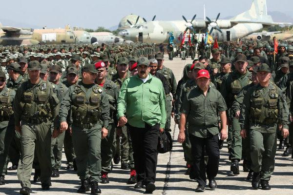 Maduro: ejercicios militares se extenderán hasta el 30 de agosto