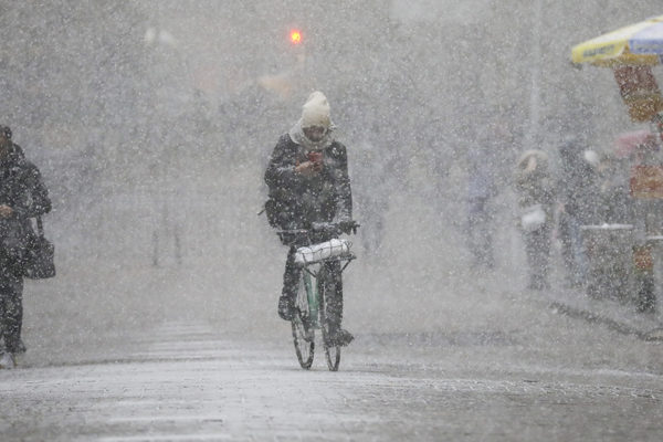 Norte de EEUU se petrifica con la ola de frío polar
