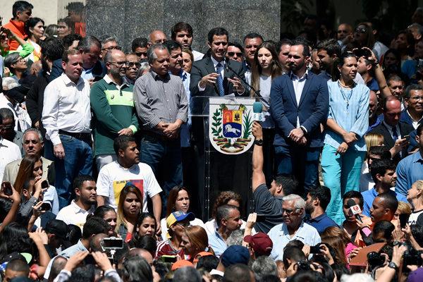 Los escenarios que asoma un gobierno paralelo en Venezuela