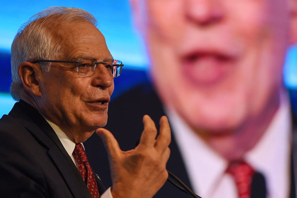 Canciller Borrell: Hay una crisis humanitaria en Venezuela y tenemos que abordarla con más firmeza
