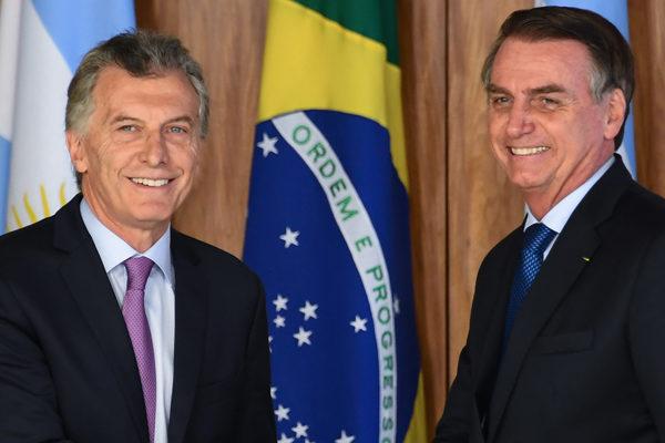 Bolsonaro y Macri condenan dictadura de Venezuela