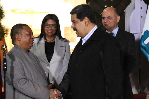 Maduro discute estrategias para «gobernar» mercado con secretario de la Opep