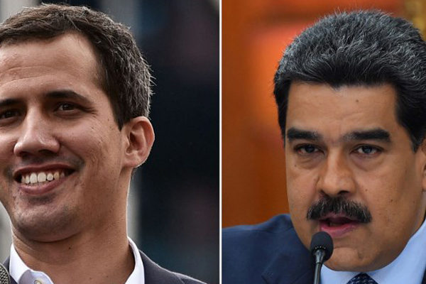 Guaidó dice que fondos investigados eran privados y Maduro lo acusa de «mentiroso y corrupto»