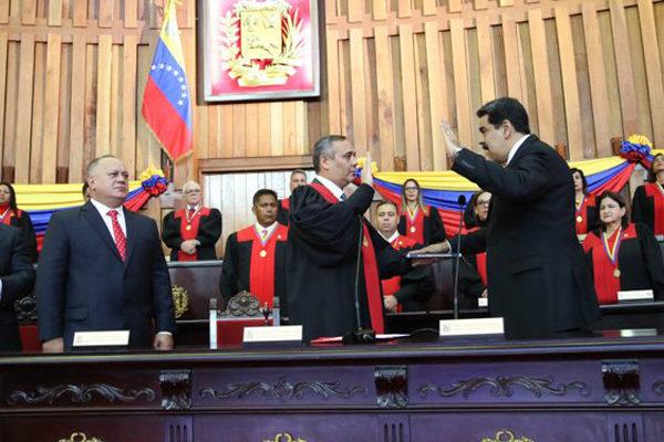 TSJ juramenta a Maduro como presidente para el periodo 2019-2025