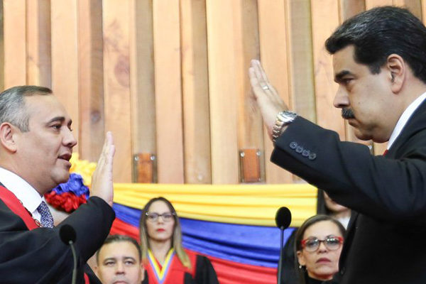 Reacciones internacionales a la juramentación de Maduro