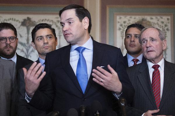 Senador Marco Rubio advierte a Biden: ´quienes negocian con Maduro se desprestigian´