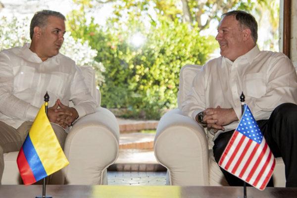 Colombia y EEUU acuerdan seguir liderando oposición a Maduro en la región
