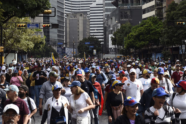 Guaidó alista marcha por ultimátum europeo y ayuda humanitaria