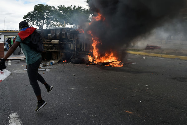 ONU asegura que protestas en Venezuela han dejado más de 40 muertos