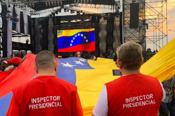 Por violencia suspenden concierto chavista en la frontera con Colombia