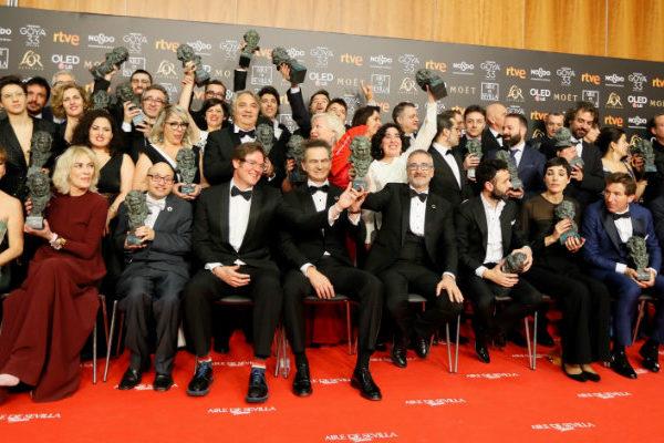 """""""El reino"""" suma 7 premios Goya pero """"Campeones"""" se lleva el de mejor película"""