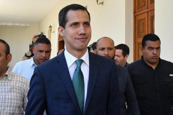 Guaidó pide a Italia que reciba a una delegación opositora venezolana
