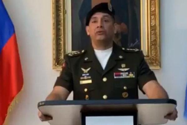 Asesor militar adjunto de Venezuela en la ONU reconoce a Guaidó