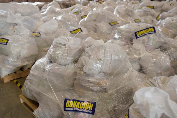 Honduras envía dos toneladas de ayuda humanitaria para venezolanos