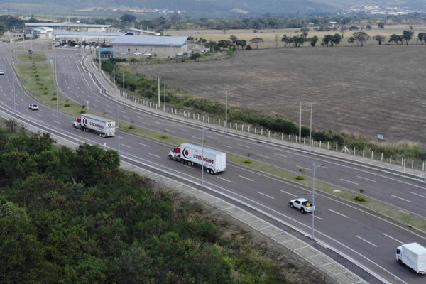 Ayuda humanitaria de EEUU llega a frontera de Colombia con Venezuela