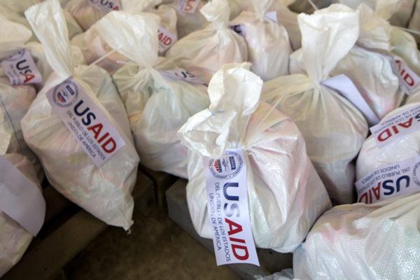 Llegan nuevas toneladas de ayuda de EEUU a frontera de Colombia con Venezuela