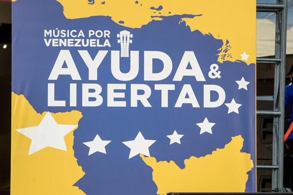 Gobierno bloquea transmisión de concierto Venezuela Aid Live