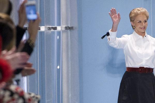 La mujer elegante y desenfadada de Carolina Herrera desfila en Nueva York