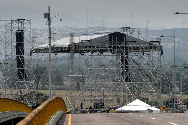 Concierto chavista y opositor, frente a frente en la frontera con Colombia