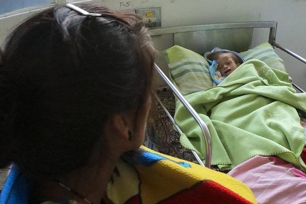 Niños desnutridos, el rostro más desgarrador de la crisis venezolana
