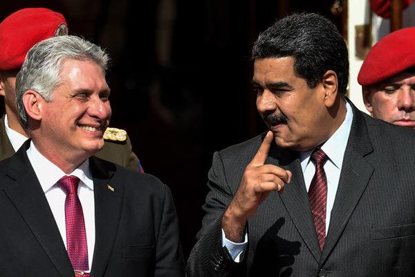 EEUU tiene en la mira el apoyo de Cuba a Venezuela
