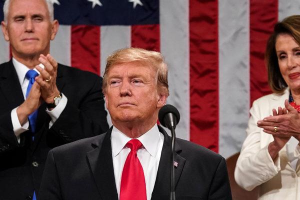 Trump apoya búsqueda de libertad de Venezuela en discurso del Estado de la Unión