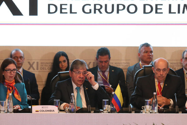 Grupo de Lima se reúne el viernes por crisis de Venezuela
