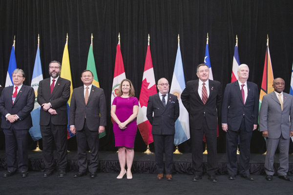 Grupo de Lima analizará la próxima semana en Guatemala la crisis venezolana