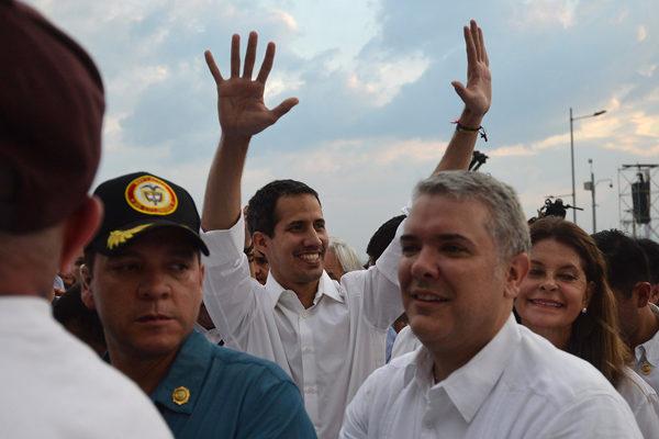 Guaidó dice que la FAN participó en operación que lo llevó a Colombia
