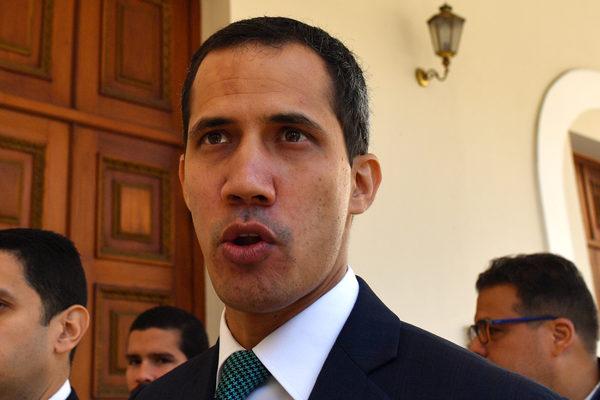 Juan Guaidó mantiene una reunión por videoconferencia con países de Caricom