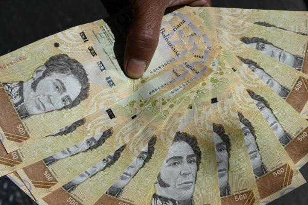 Cantidad de billetes de Bs 500 en circulación creció más del doble en marzo