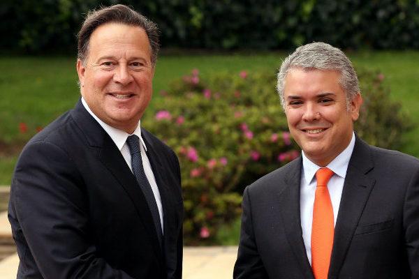Duque dice a Varela que el cerco diplomático es eficaz para presionar a Maduro