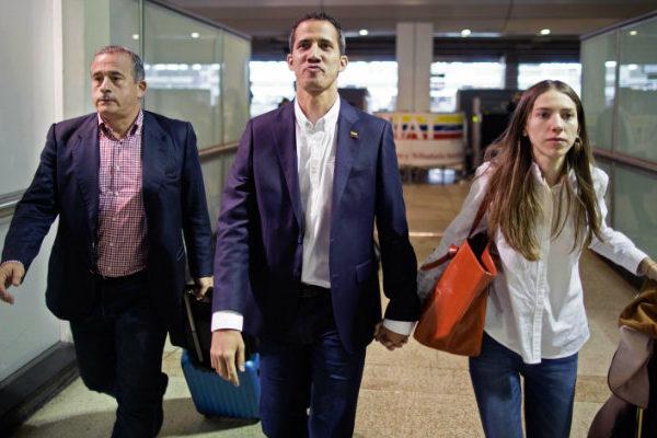 Guaidó condena asalto al Congreso de EEUU como ´un ataque a la democracia´