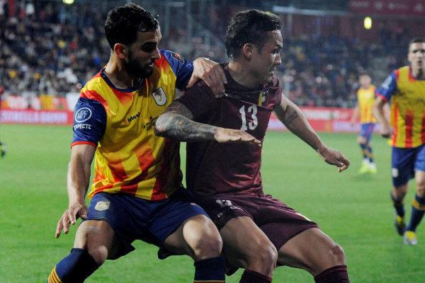 Venezuela cae 1-2 ante la selección catalana en el último suspiro