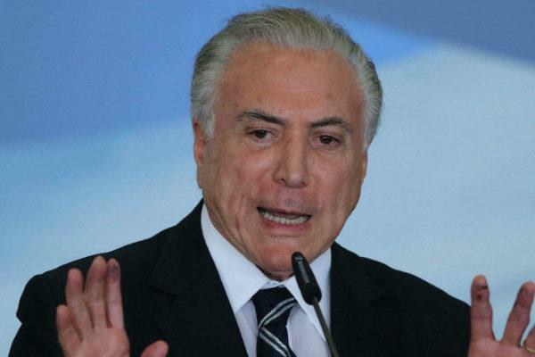 Arrestan a expresidente brasileño Michel Temer en el caso vinculado a Lavo Jato