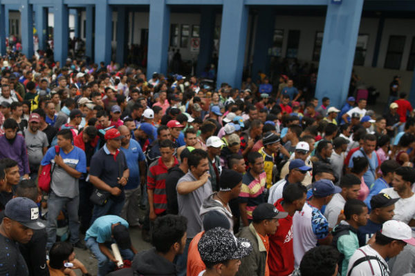 Llegada de venezolanos a Ecuador se duplica en última semana sin visa