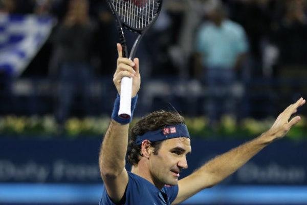 Roger Federer logra en Dubái el 100º título de su carrera