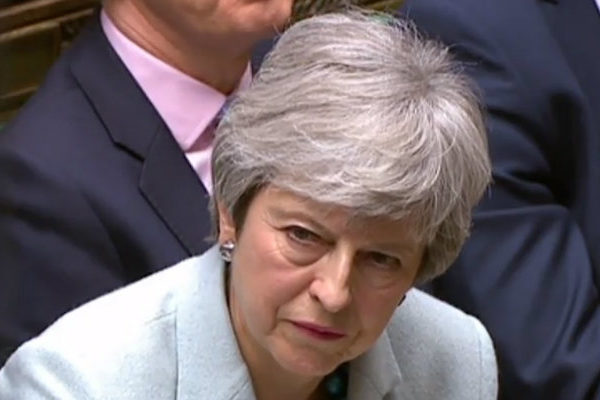 Theresa May: No hay suficiente apoyo parlamentario al acuerdo del brexit