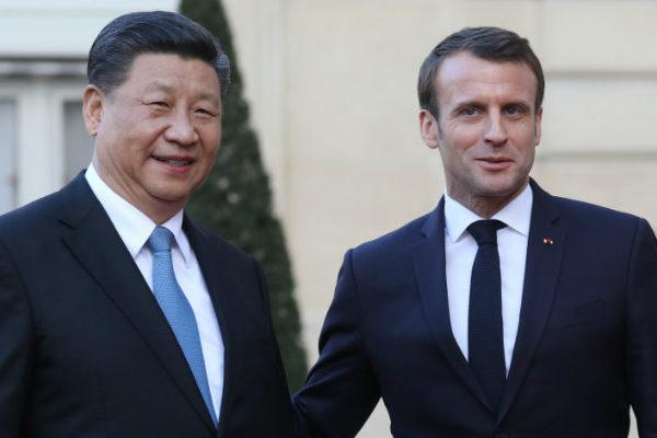 Macron y Xi defienden el multilateralismo y piden mayor comercio entre UE y China