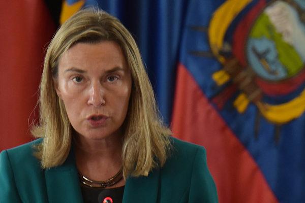Mogherini: Solución en Venezuela pasa por comicios libres y creíbles