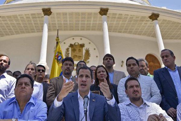 Guaidó pide a la AN decretar estado de alarma en Venezuela
