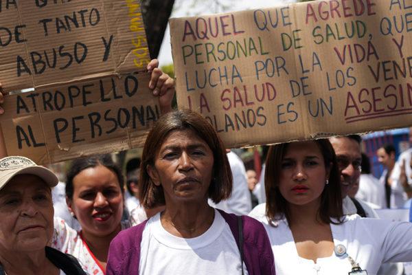 Los médicos en la mira de Maduro durante visita de la ONU a Venezuela